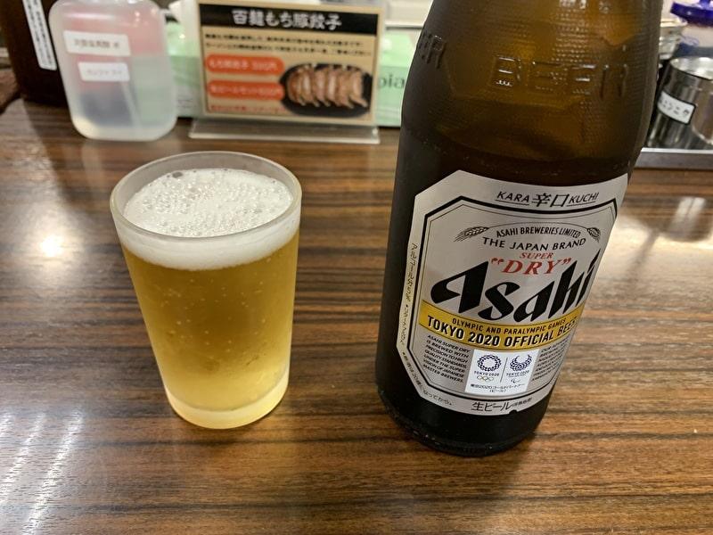 中目黒 百麺 アサヒスーパードライ