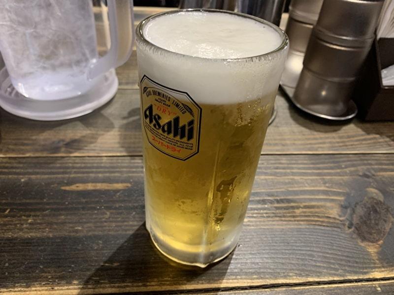 三ツ矢堂製麺 中目黒 生ビール