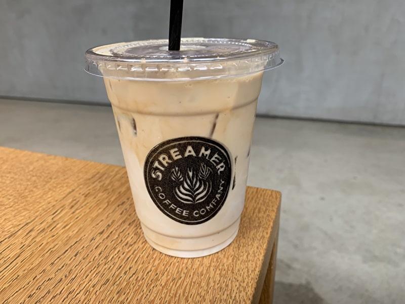 ストリーマーコーヒーカンパニー アイスラテ