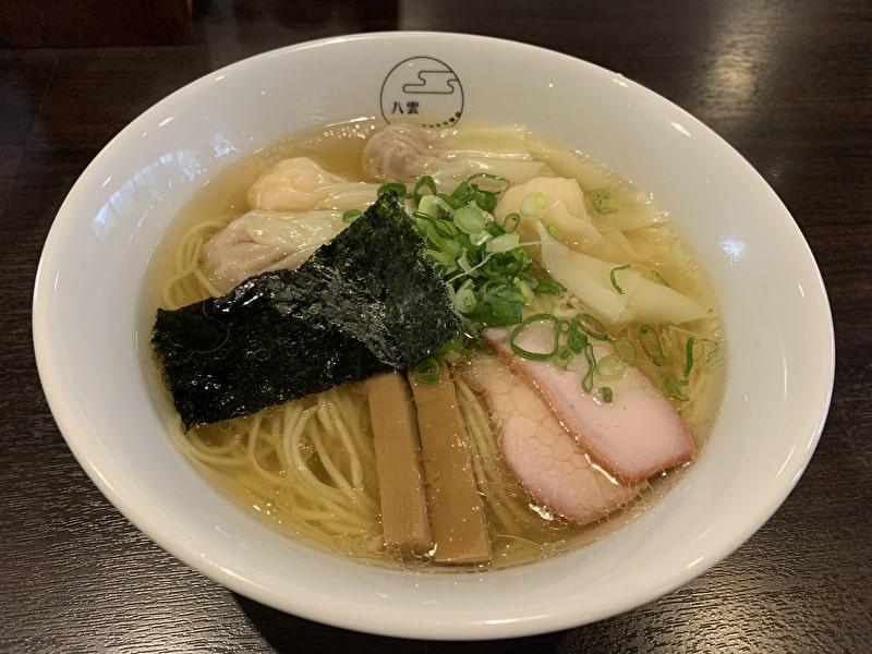 中目黒 八雲 ワンタン麺