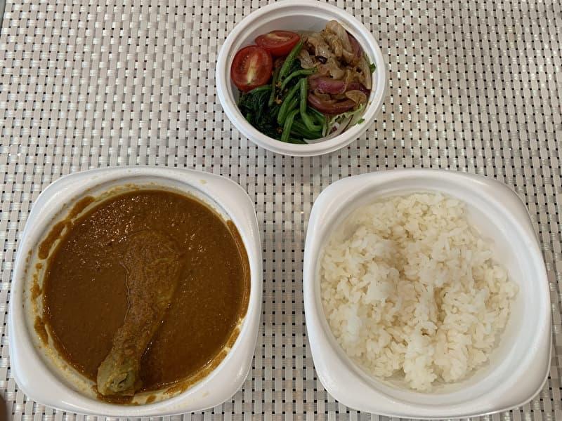 香食楽(kakura かくら) テイクアウト チキンカレー