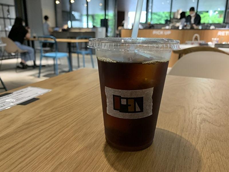 OPEN NAKAMEGURO カフェ 中目黒 アイスコーヒー