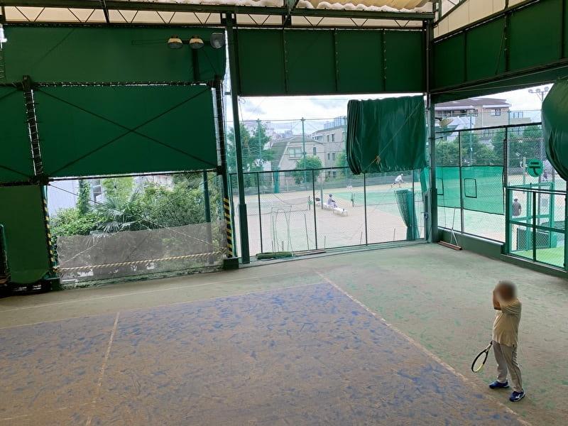 中目黒 目黒ゴルフ練習場 テニスコート