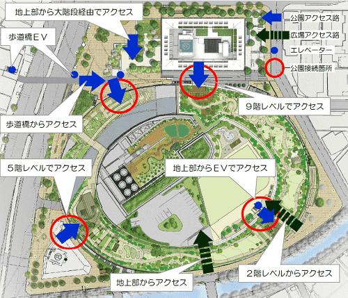 中目黒情報サイト 目黒天空庭園 オーパス夢広場 マップ