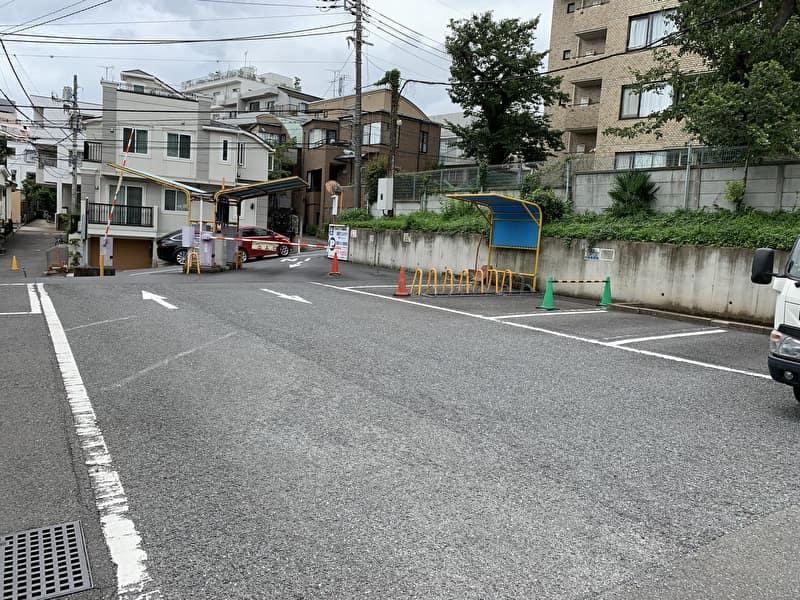 中目黒 目黒ゴルフ練習場 駐車場