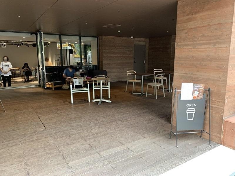 OPEN NAKAMEGURO カフェ 中目黒 店内