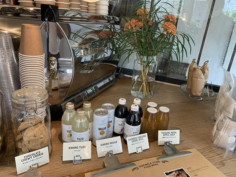SIDEWALK STAND 中目黒 カフェ