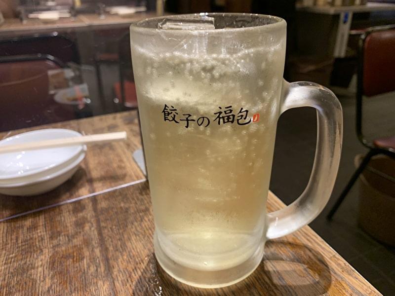 餃子の福包 中目黒 ハイボール