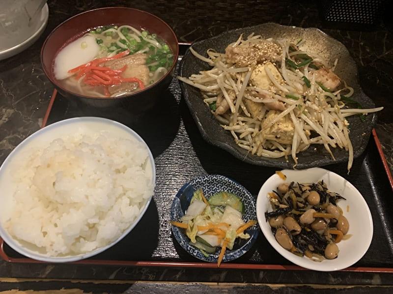 中目黒 れきお 沖縄料理 ランチセット