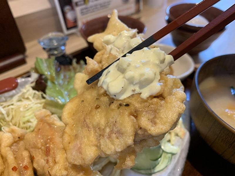 中目黒 三かみ タルタル チキン