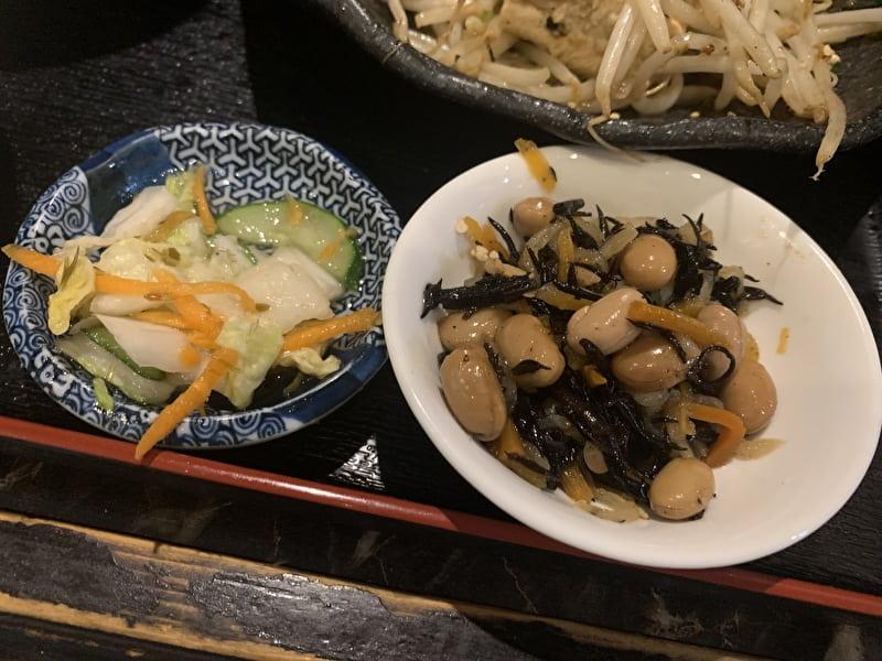 中目黒 れきお 沖縄料理 ランチ 副菜