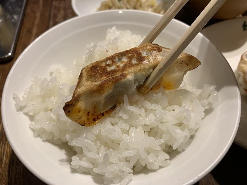 餃子の福包 中目黒 焼餃子