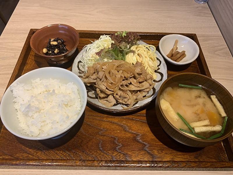 中目黒 食べ処 三かみ 人気メニュートップ5 生姜焼き
