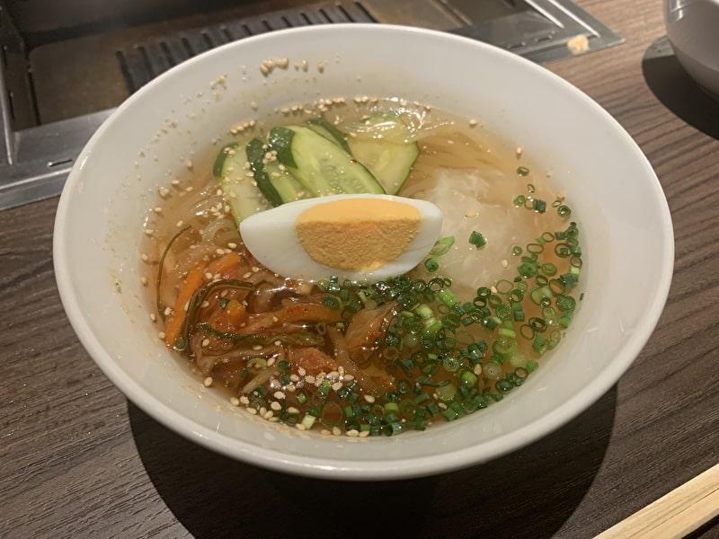 中目黒 焼肉りんご 冷麺