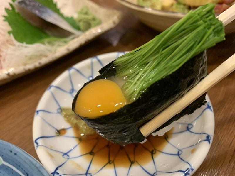 いろは寿司 中目黒 芽ネギ