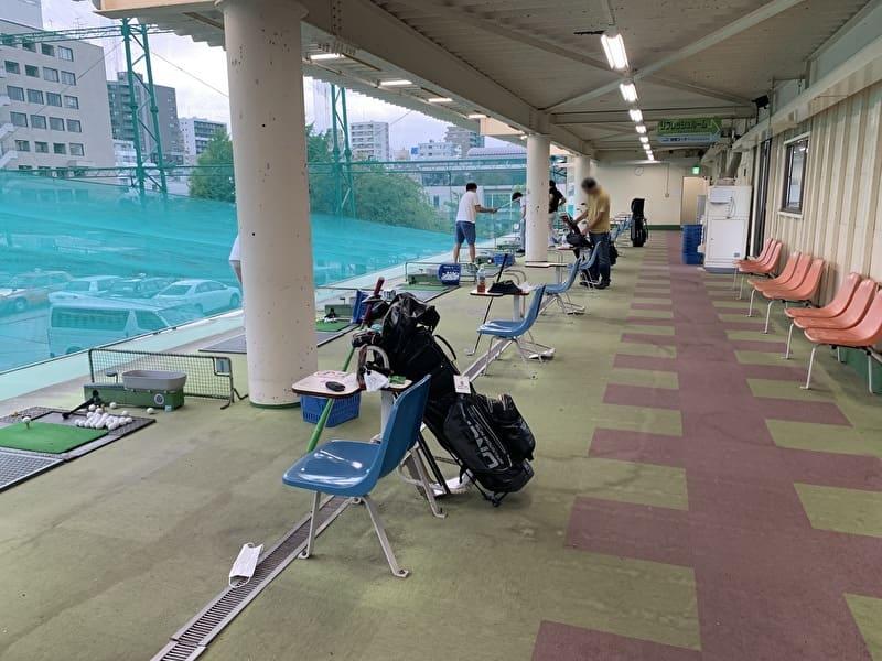 メグロゴルフクラブ 打席