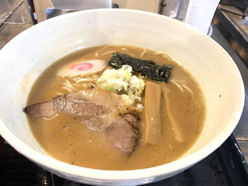 三ツ矢堂製麺 中目黒 豚骨魚介ラーメン