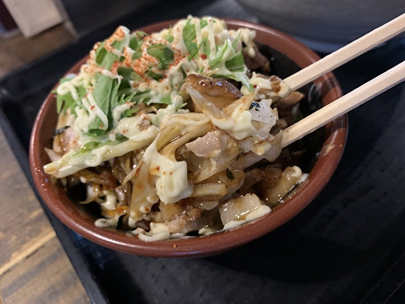三ツ矢堂製麺 中目黒 チャーシューねぎマヨご飯