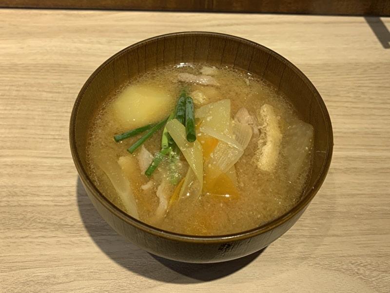 中目黒 食べ処 三かみ 人気メニュートップ5 豚汁