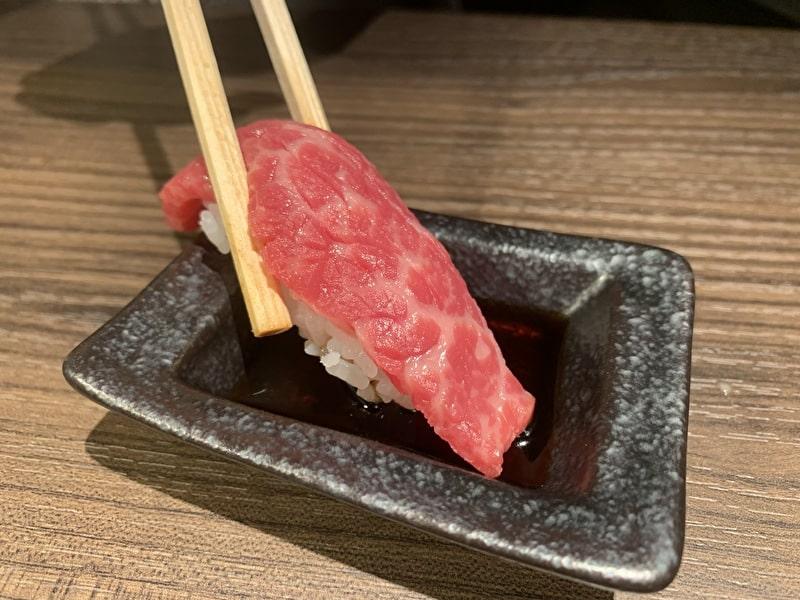 中目黒 焼肉りんご 肉寿司