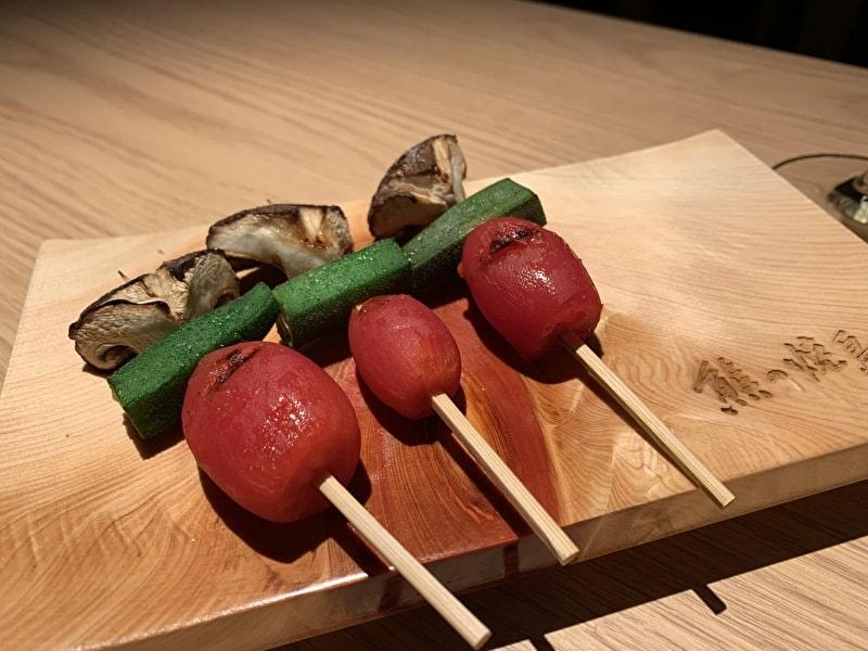 中目黒 熊の焼鳥 野菜串