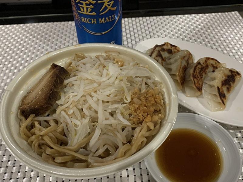 中目黒 目黒五十番 肉まん 餃子を食べる