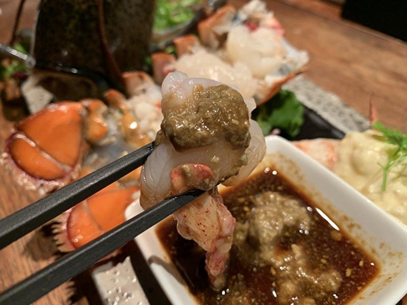 クラブハウス エニ 中目黒 オマール海老の活々イケイケ
