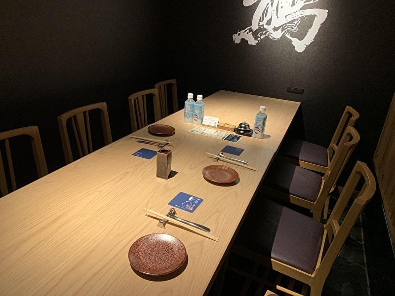 中目黒 熊の焼鳥 個室