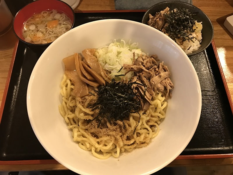 麺屋東京かとむら 中目黒 祐天寺 油そば定食