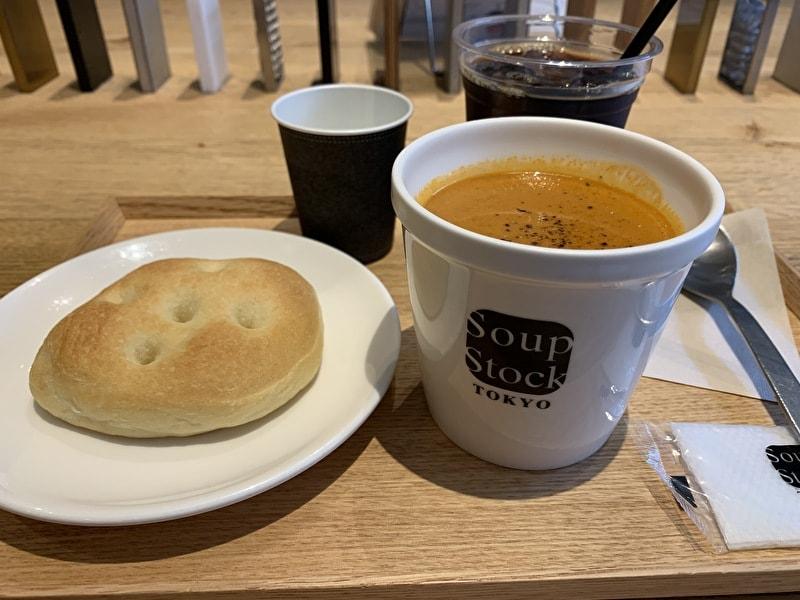 中目黒Soup Stock Tokyo(スープストックトーキョー)オマール海老のビスクセット