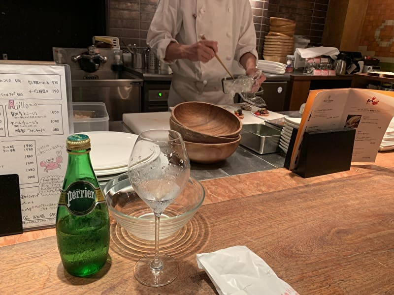 クラブハウス エニ 中目黒 オープンキッチン
