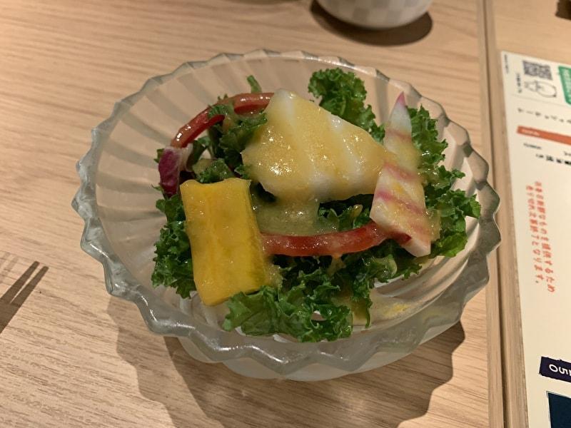 中目黒 熊の焼鳥 サラダ