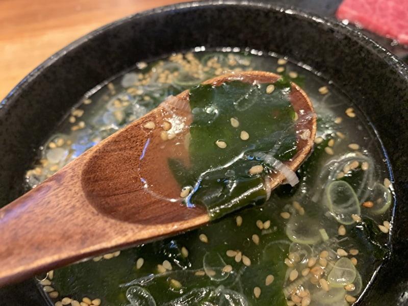 和牛十兵衛 中目黒 スープ