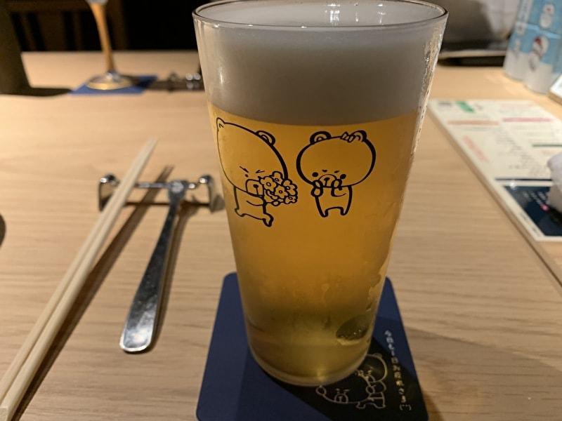 中目黒 熊の焼鳥 生ビール
