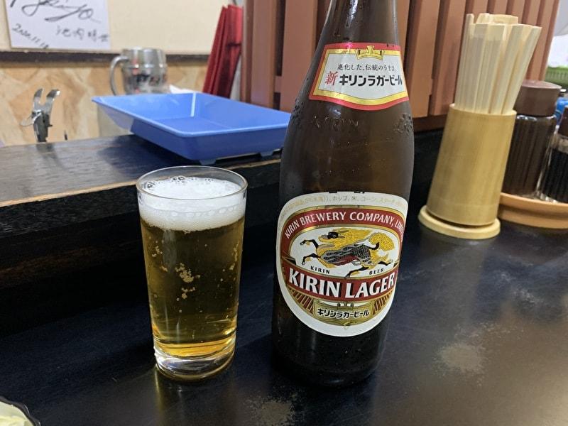 きこり食堂 祐天寺 ビール