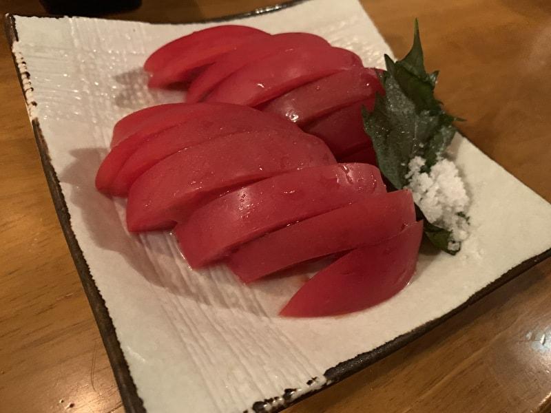 中目黒 MARU 冷やしトマト