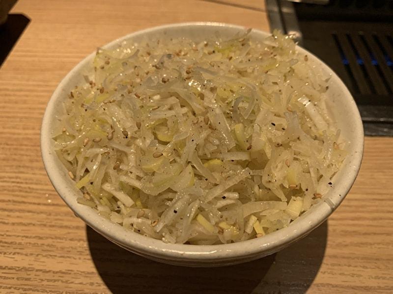 東京苑 祐天寺 うまネギ飯