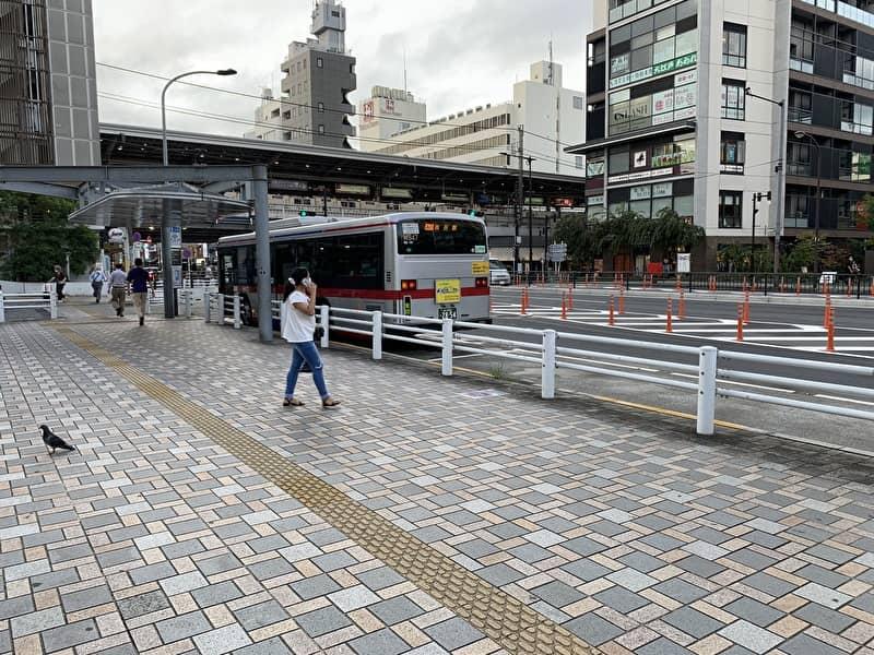 中目黒 バス停