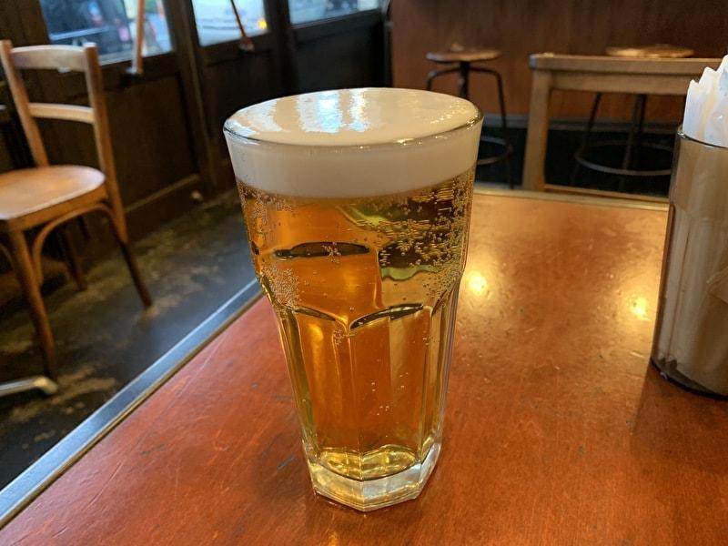 GOLDEN BROWN(ゴールデンブラウン) 中目黒 生ビール(ハートランド)