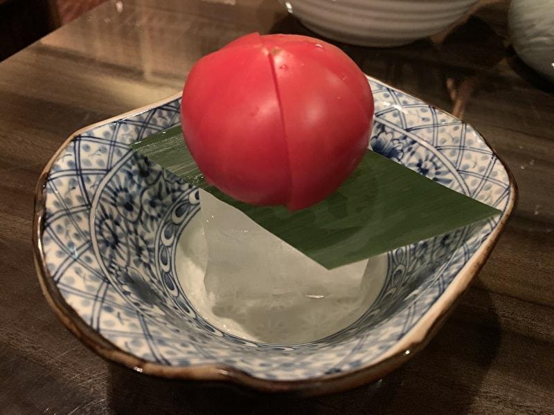 代官山 吟 レタしゃぶ フルーツトマト