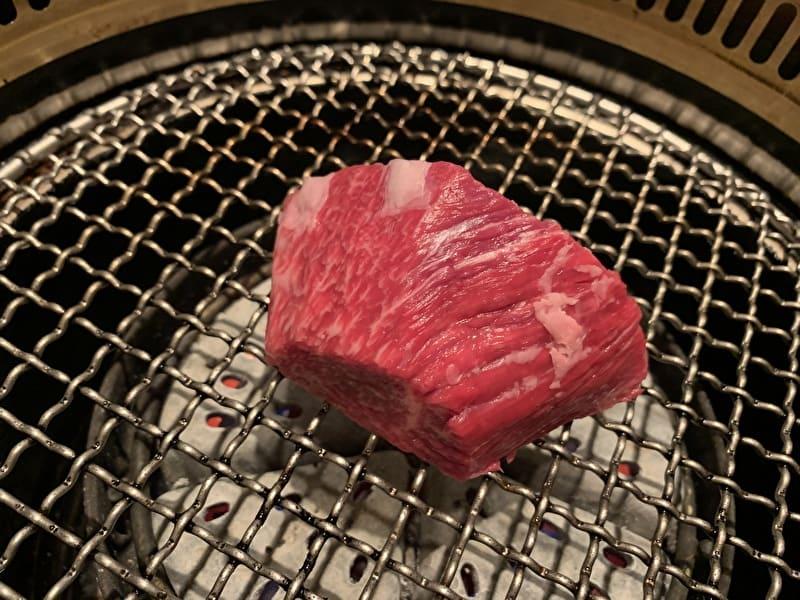 びーふてい 中目黒 焼肉 牛タタキ