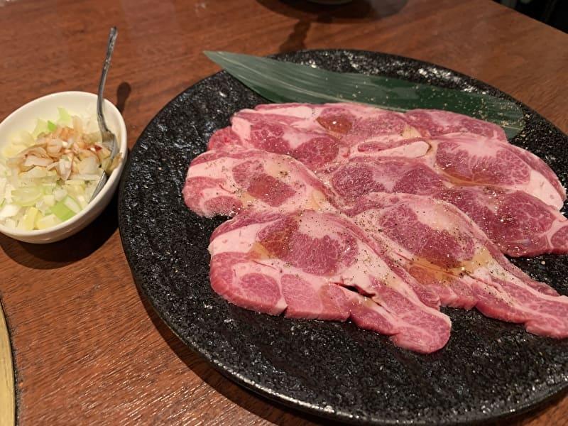 びーふてい 中目黒 焼肉 タンカルビ