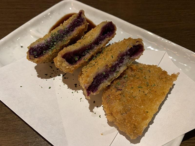草花木果(そーかぼっか) 中目黒 紅芋のコロッケ