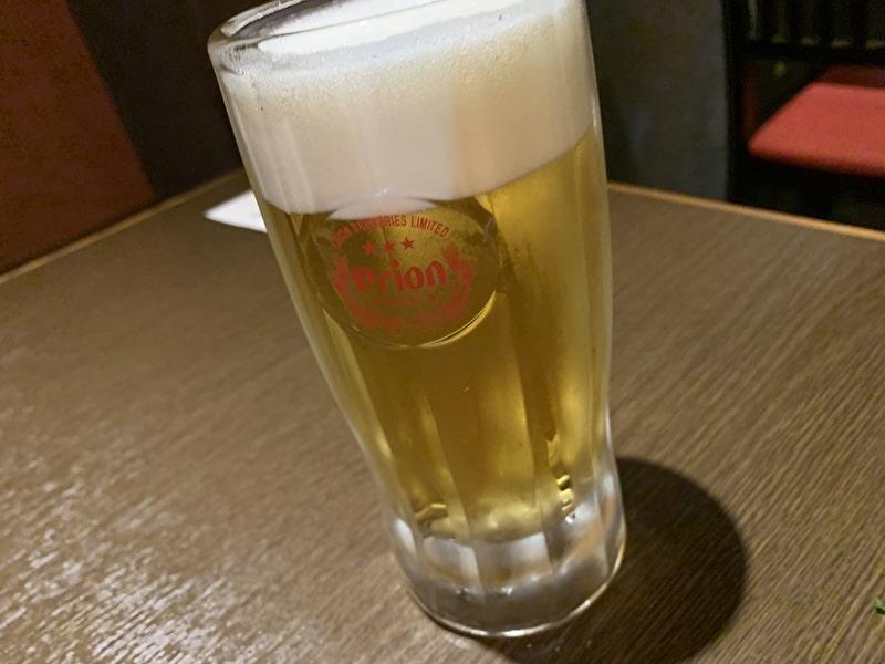 草花木果(そーかぼっか) 中目黒 オリオンビール