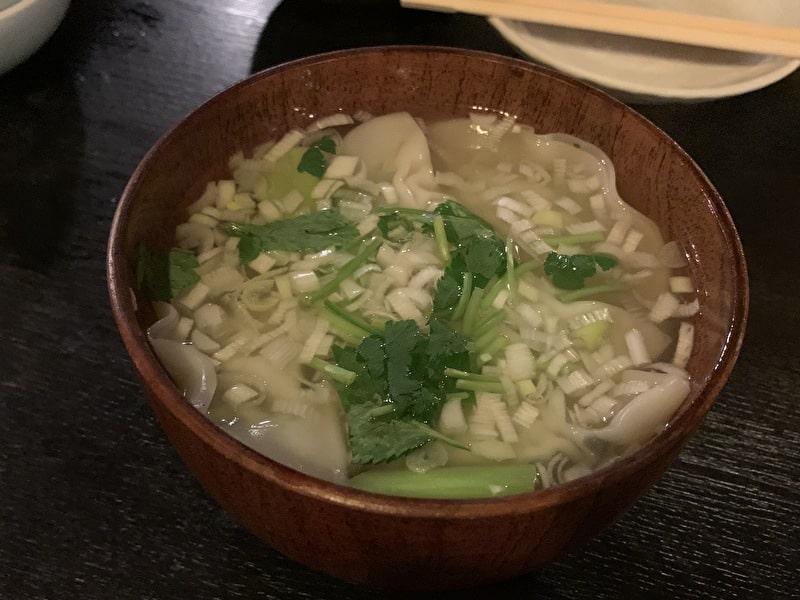 中目黒 串若丸 水餃子