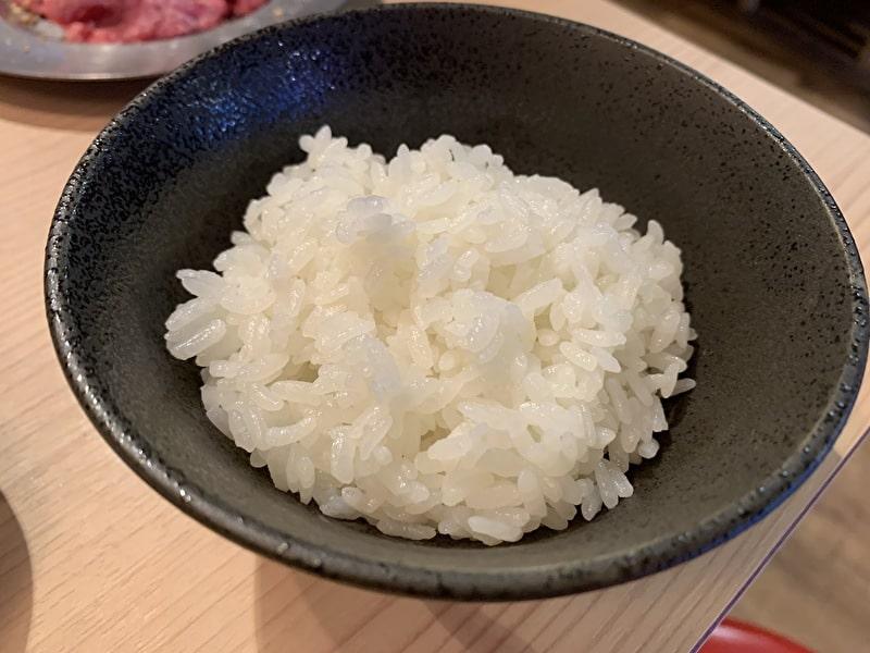 カウンター焼肉 おおにし 祐天寺 ライス(小)