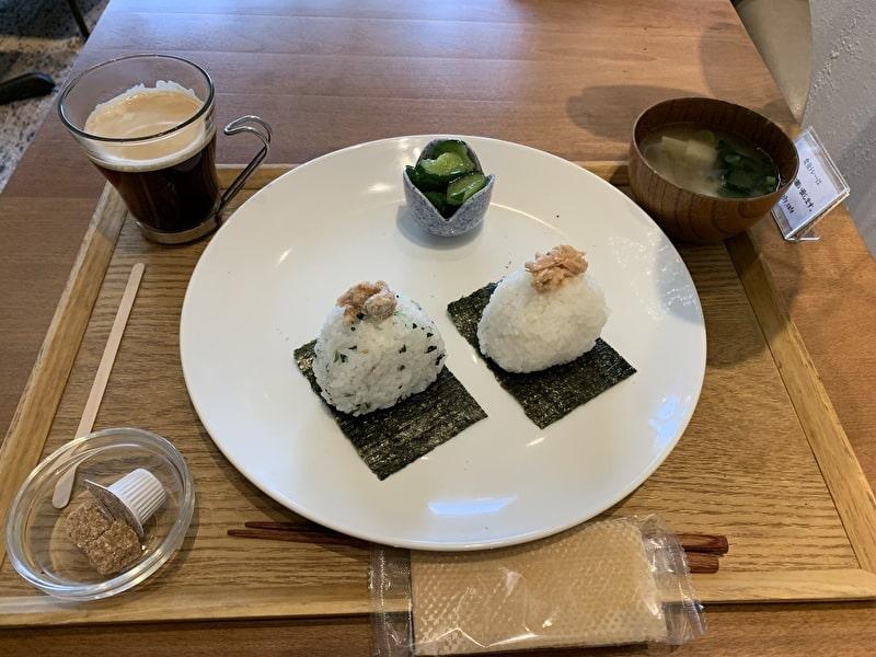 Onigily Cafe おにぎりカフェ 中目黒 モーニング