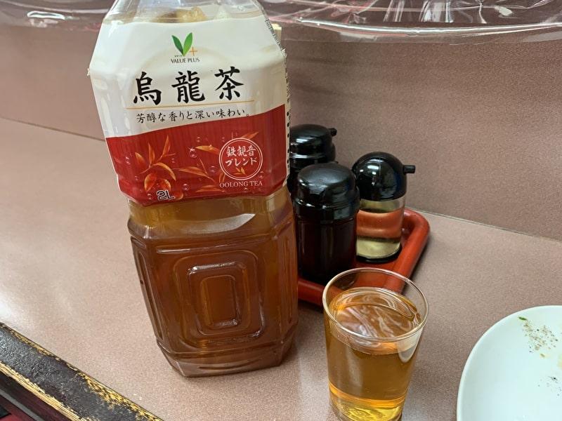 中華宝来 中目黒 お茶
