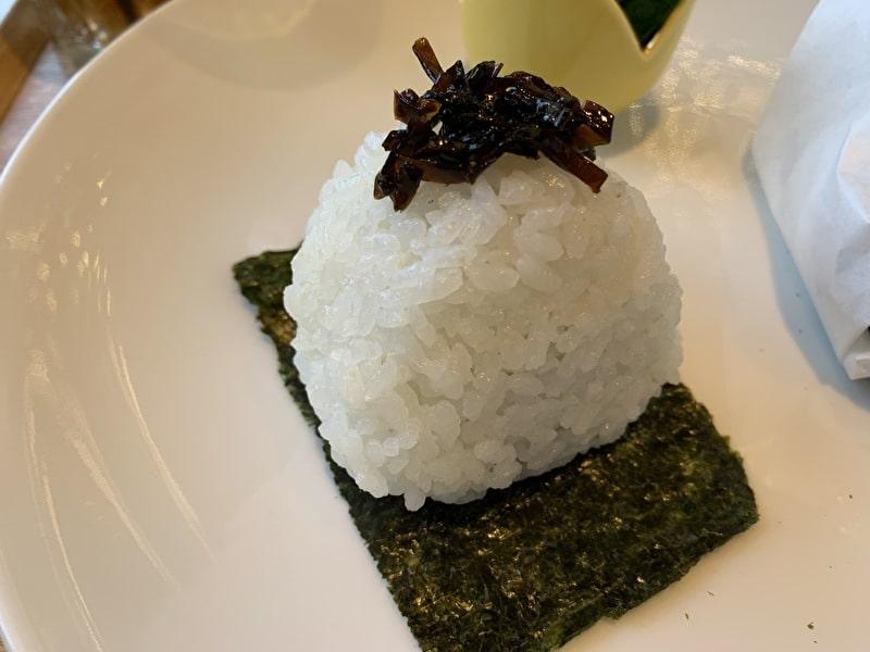 Onigily Cafe おにぎりカフェ 中目黒 昆布