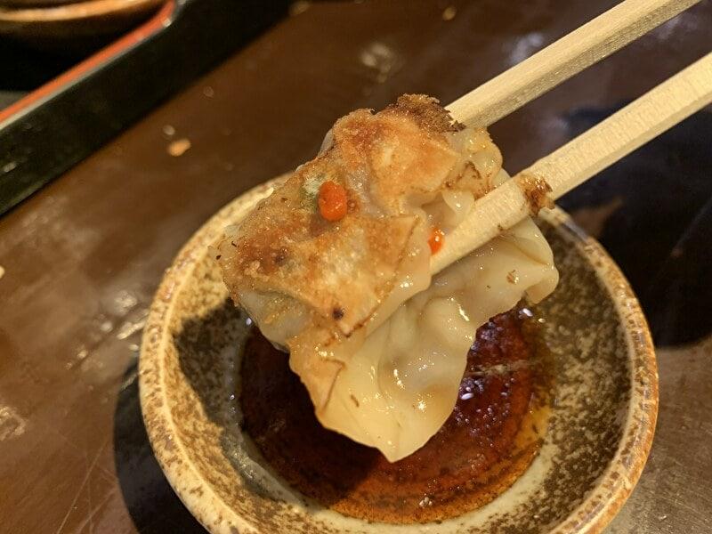 神泉 麺の坊 砦 一口餃子
